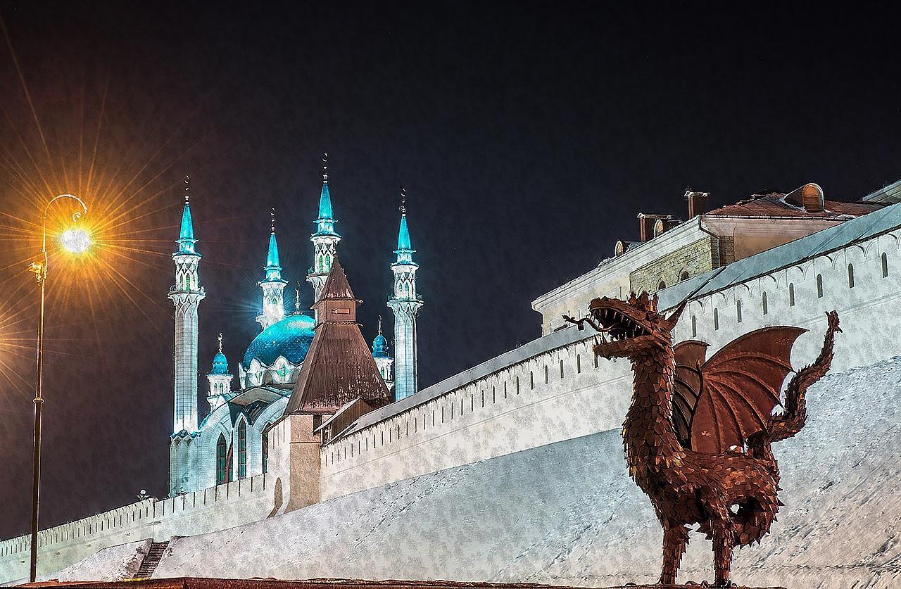Три дня в Казани с выездом из Саратова на поезде 3 января 2019